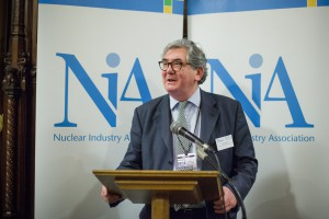 Keith Parker, Chief Executive of the NIA speaking at the NIA's #Nuclear - Powering the UK Conference last December.